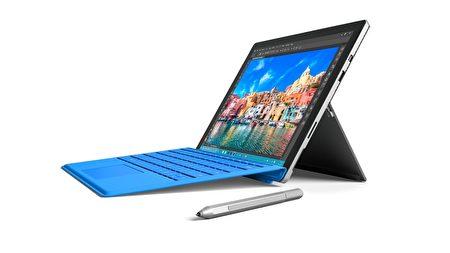 图为Surface Pro 4。(台湾微软提供)