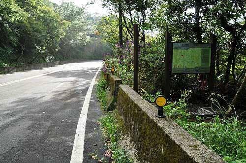 磐石岭登山步道入口,约位于汐平公路里程11.8K处(图片提供:tony)
