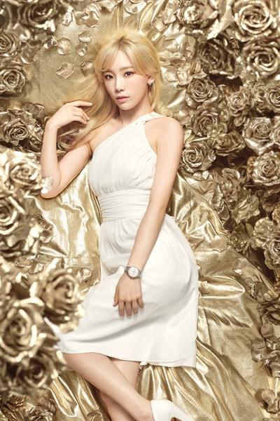 图为太妍新广告写真,奢华典雅。(公关提供)