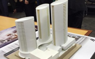 水濱建築開發項目(Gosford市府提供)