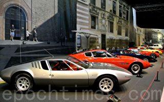 意大利汽车车展(ITALIAN CAR PASSION)于12月3日在布鲁塞尔的汽车世界博物馆(Autoworld)拉开序幕。图为中古车 (箫依然/大纪元)