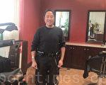张先生在这里重新开始创业。(梁博/大纪元)