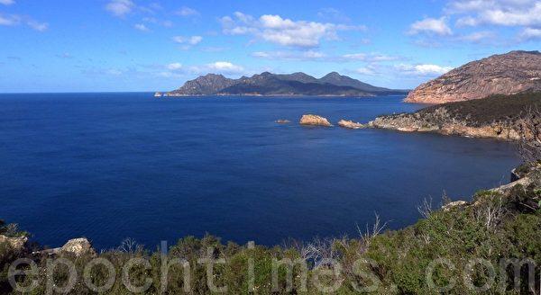 让人欣赏不尽的塔斯曼海风景。(华苜/大纪元)