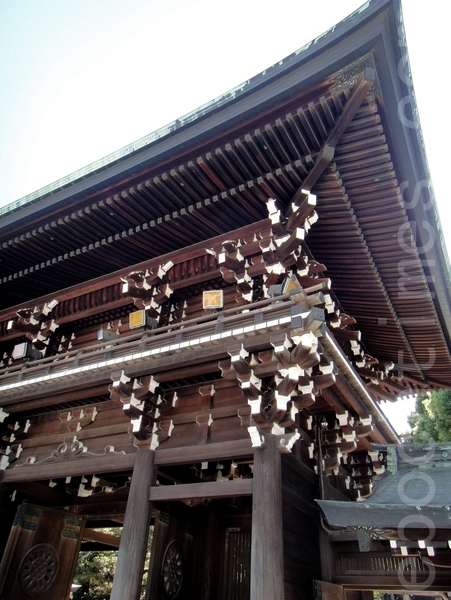 神宫建筑斗拱结构(蓝海/大纪元)