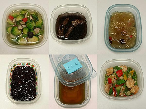 很多新手妈妈会问他要菜单,阿辉先生月子餐天天有变化,他每天都要去大华买菜。(大纪元合成图片)