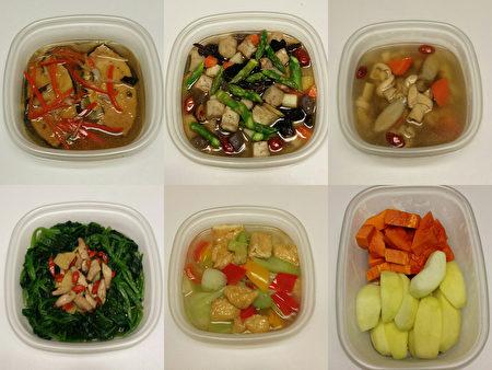 阿辉先生遵从健康饮食的理念,煮食口味比较清淡,少油少盐。(大纪元合成图片)