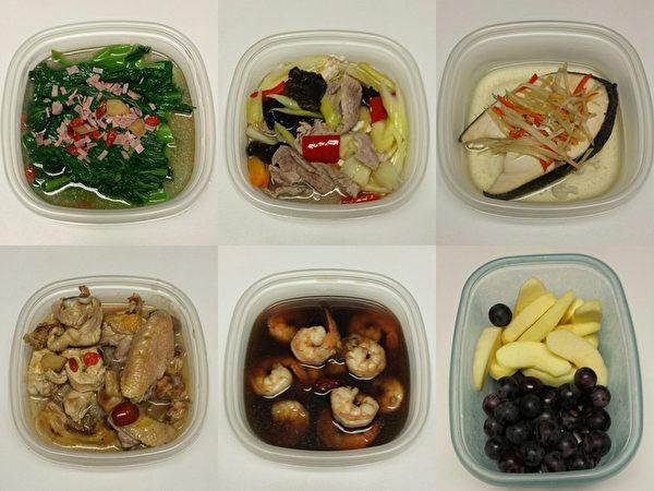 阿辉会选用当季新鲜好食材,而且也不会吝啬用好东西。(大纪元合成图片)