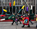 紐約週末氣溫預計將破12月高溫紀錄。(Andrew Burton/Getty Images)