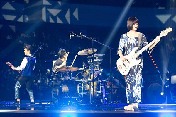 苏打绿演唱会连续三天在台北小巨蛋登场。(环球唱片提供)
