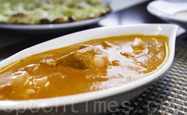 印度菜餚。(李歐/大紀元)