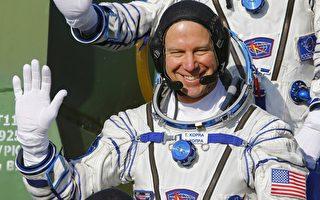 美英俄宇航员同乘一艘火箭 飞赴国际空间站