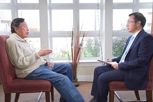 羅瑞卿之子羅宇2015年12月12日在美國接受大紀元、新唐人聯合專訪。(大紀元)