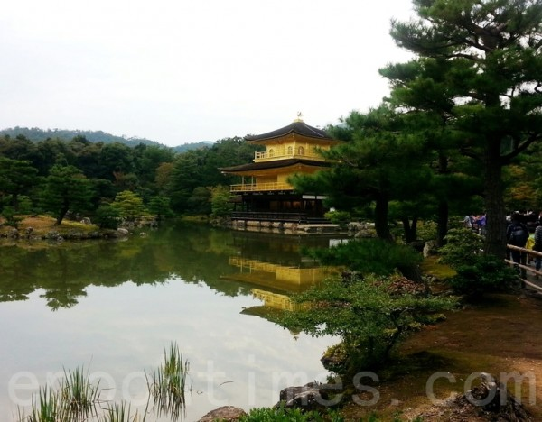 金閣寺遠景(呂思音/大紀元)
