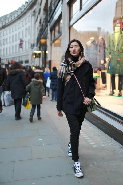 中国大陆模特儿刘雯。(Burberry提供)