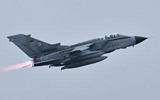 2015年12月10日,德國也加入打擊IS的隊伍,圖為德國旋風戰機從德國北部基地起飛。(CARMEN JASPERSEN/AFP/Getty Images)