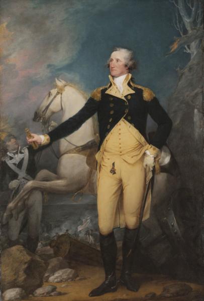 美国独立战争成功指挥Trenton战役时的华盛顿将军。(维基公共领域)