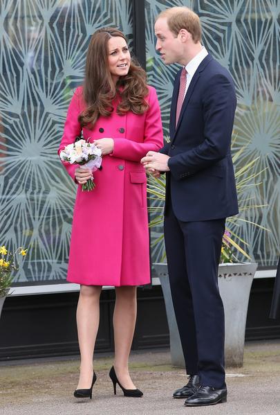 3月27日凯特与威廉到访斯蒂芬.劳伦斯中心,支持为年轻人的提供的发展机会。  (Chris Jackson/Getty Images)