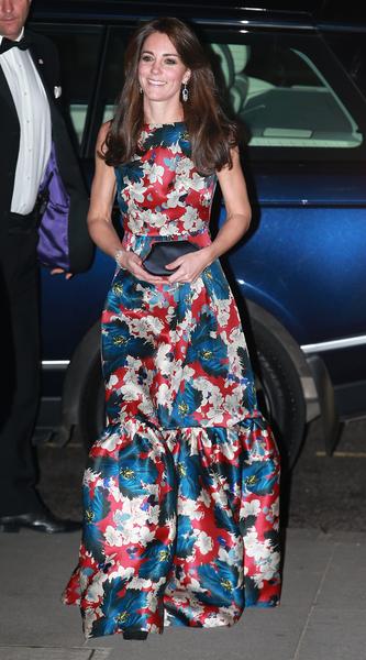 10月27日凯特出席为100名妇女的对冲基金晚宴。  (Chris Jackson - WPA Pool /Getty Images)