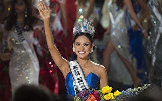 第64屆環球小姐大賽12月20日在美國拉斯維加斯舉行總決賽,菲律賓小姐武茨巴赫(Pia Alonzo Wurtzbach)獲得冠軍(AFP)。