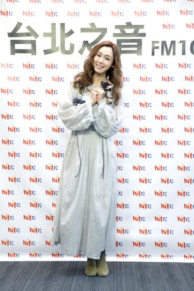 范范明年1月10日举办演唱会,久未在台湾与粉丝近距离开唱,紧张又期待。(台北之音提供)