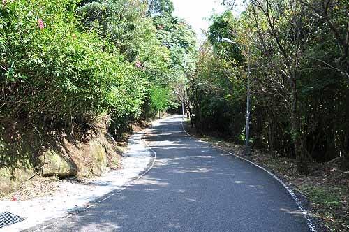 步行猴崁产业道路,返回里程1K停车处,完成了猴崁古道的小环形路线。 (图片提供:tony)