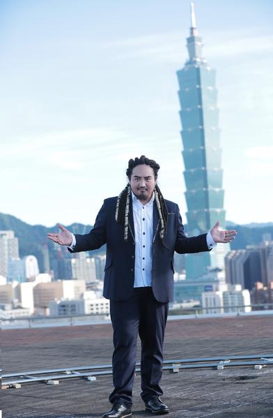 台湾歌手Matzka最近推出新歌并拍摄MV。(索尼音乐提供)