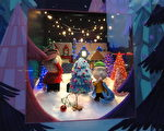 組圖:傳統與現代交匯 費城聖誕喜氣洋洋