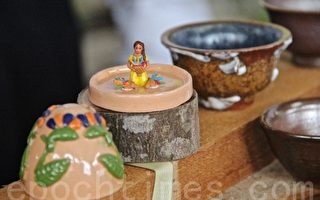 萨国人员来台研修 亚太传授陶艺训练