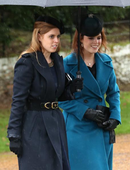 欧仁妮公主和比阿特丽斯公主(Chris Jackson/Getty Images)