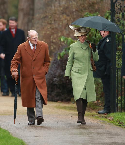 图为菲利普亲王和安妮公主(Chris Jackson/Getty Images)