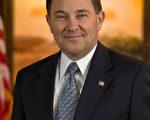 美国犹他州州长贺伯特(Gary Herbert)(官方图片)