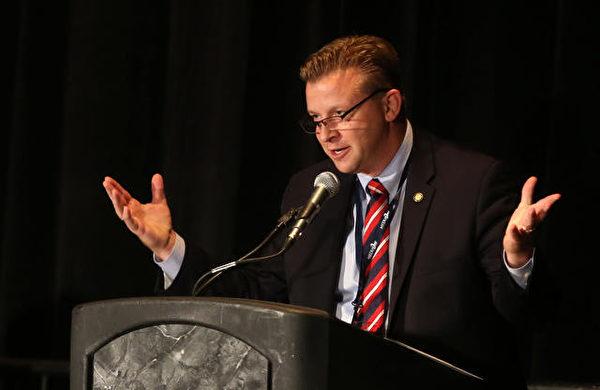 猶他第23選區參議員托德‧維勒(Todd Weiler)(官方網站)