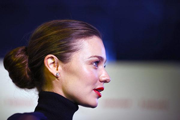 米兰达‧可儿的发缵。(Marianna Massey/Getty Images)