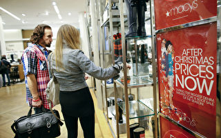 圣诞节后美国人退货忙 价值高达900亿美元