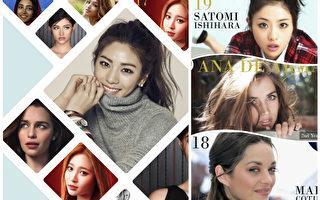 2015世界最美臉孔榜 這些美女你認識嗎?