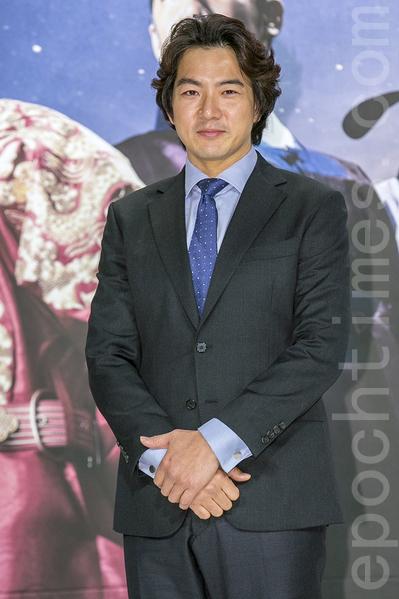12月28日,韓國電視台KBS大河電視劇《蔣英實》製作發布會在首爾永登浦區舉行。該電視劇由宋一國主演。(全景林/大紀元)