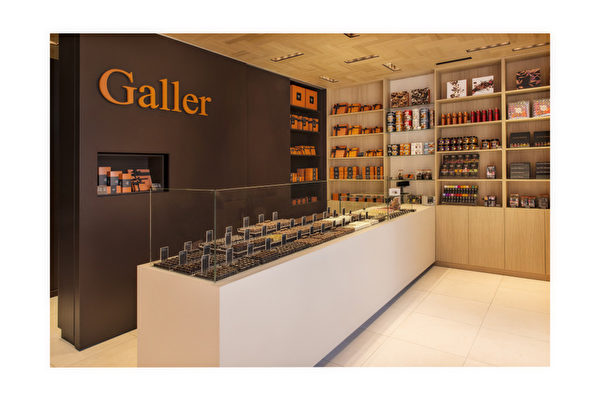 比利时Galler巧克力专门店。(Galler提供)