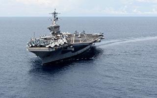 美中罕见同时在南海军演 美两航母现身