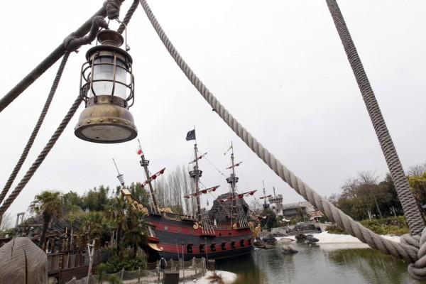巴黎迪士尼乐园海盗湾(THOMAS SAMSON/AFP)