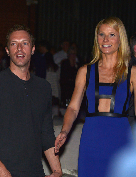 2014年,結婚11年的好萊塢影星格溫妮絲‧帕特洛與音樂人克里斯‧馬汀勞燕分飛。(Charley Gallay/Getty Images for Entertainment Industry Foundation)
