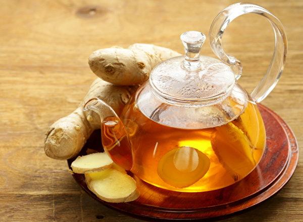 生薑茶。(Fotolia)
