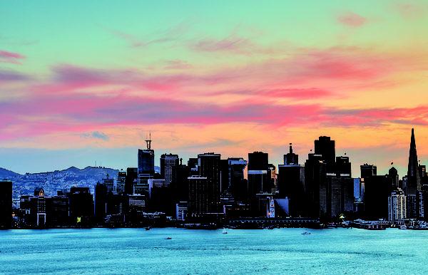 旧金山商用地产 旺市里的一点绿