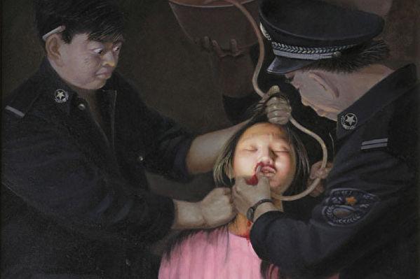 冤獄酷刑五年 十幾萬家產被搶 李苗能告江