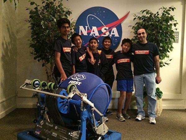 学生参加NASA教育活动。(TKA提供)