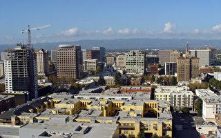 硅谷高科技公司蓬勃發展,讓聖荷西的住房供不應求。(HELENE LABRIET-GROSS/AFP/Getty Images)
