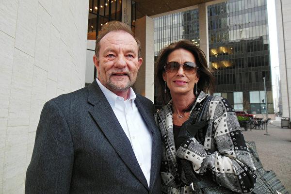 NextGen Partners公司总裁Conn Townzen先生和太太。(李辰/大纪元)
