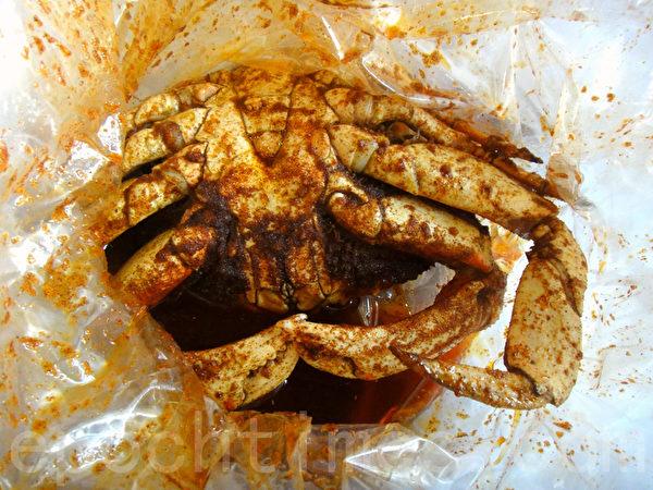 美国的螃蟹(蓝海/大纪元)