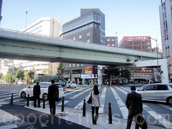 大阪难波街景(蓝海/大纪元)