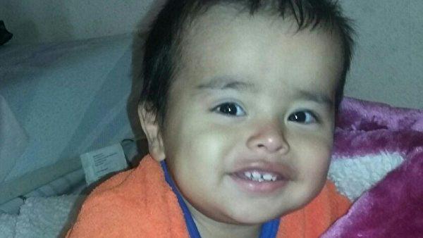 被绑架的1岁男孩。(蒙特贝罗警局提供)