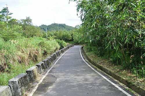 续行小产业道路往乡林农场。 (图片提供:tony)